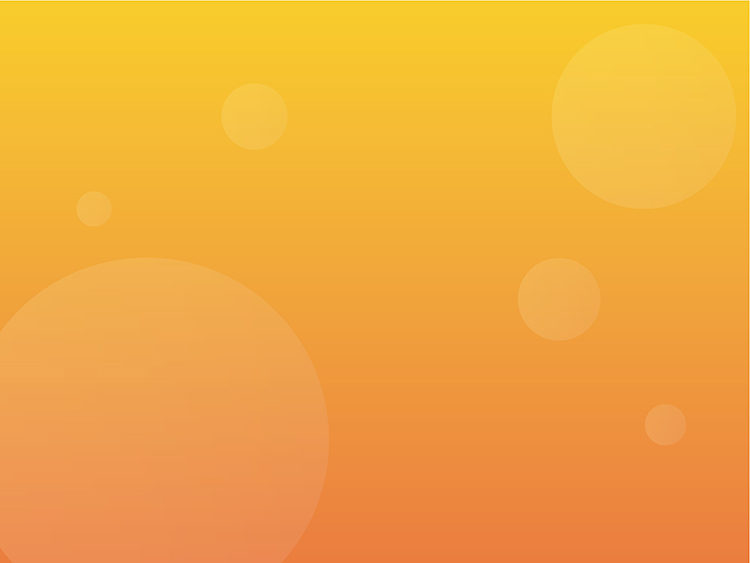 無料素材壁紙 丸型 グラデ オレンジイラストacにてダウンロード